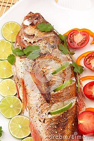 Whole Roasted Wild Rockfish
