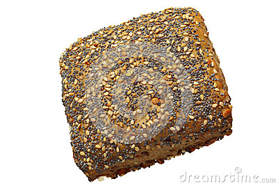Whole wheat bread roll