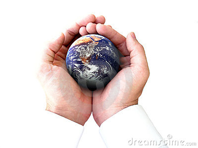 The whole world in my hands