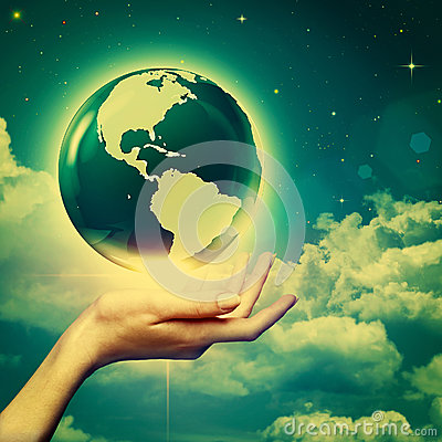 Whole world in your hands