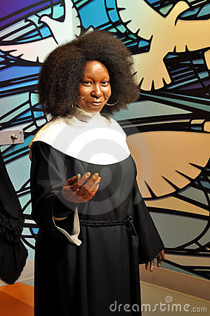 Whoopi Goldberg fashion forms water bra hot models wedding gown dress pregnant clothes