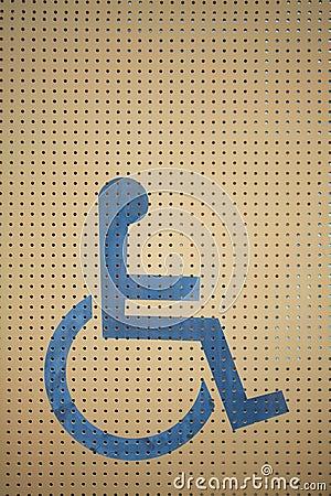 Whwwlchair sign
