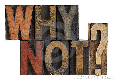 Why not? Vintage letterpress wood type