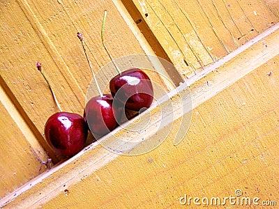 Wiśnie i czereśnie dżdżyste