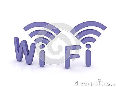Wi-fi, 3d icon