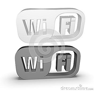 Wi-Fi icon Editorial Photo