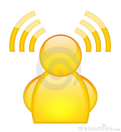 Wi-fi user icon