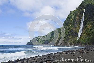 Wiapio Valley, Hawaii, the Big Island