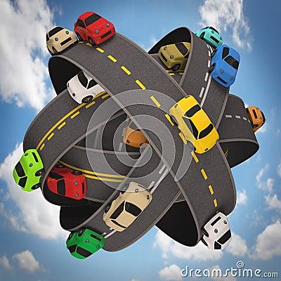 Światowy ruch drogowy