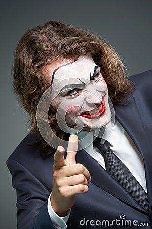 Wicked businessman