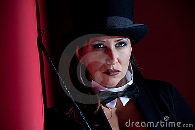 Wicked Female Ringmaster