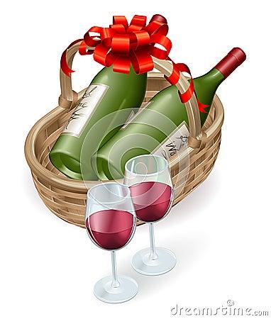 вино wicker корзины
