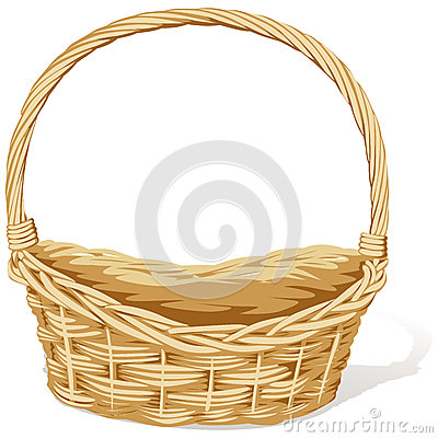 Wicker Basket Stock Photos Image 26652393