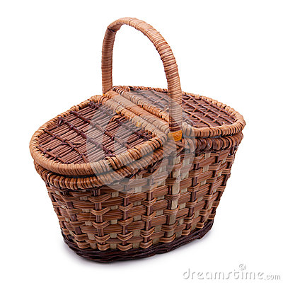 Free Wicker Basket Royalty Free Stock Photo - 50366095