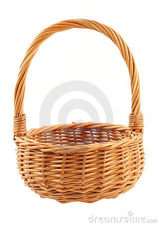Free Wicker Basket Royalty Free Stock Images - 583069