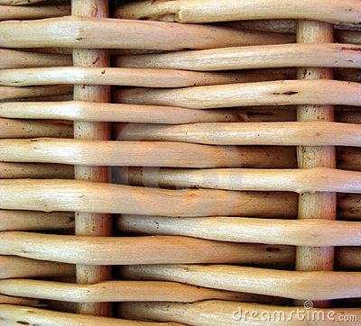 Free Wicker Basket. Background. Stock Image - 9045551