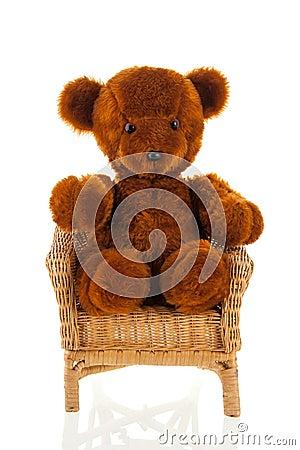 Free Wicker Chair Stock Photo - 58353290