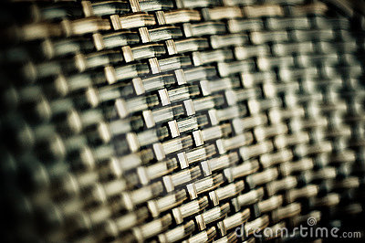 Wicker Chair Detail
