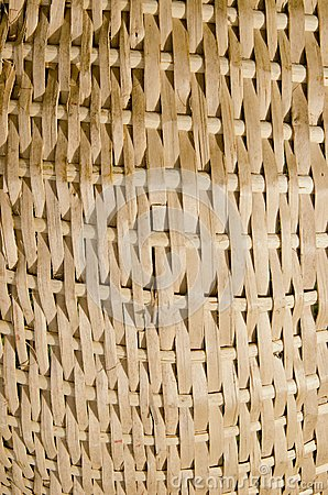 Wicker fragment background.