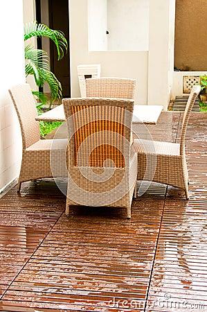 Wicker Outdoor Furniture
