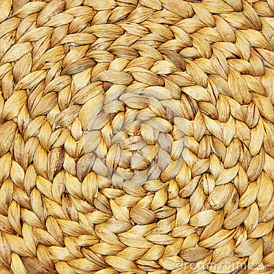Wicker Placemat background texture