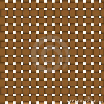 Wicker seamless texture