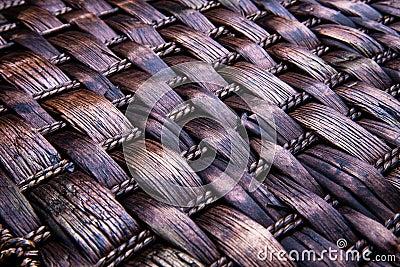 Wicker texture background