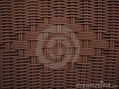 Wicker Weave Brown Texture