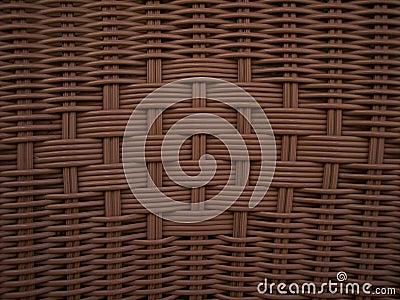 Wicker Weave Brown Texture