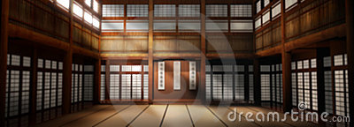 Wide Angle Dojo Background