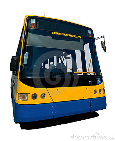 Wide Angle Isolated Bus With Clipping Paths