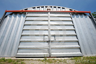 Wide angle storage unit.