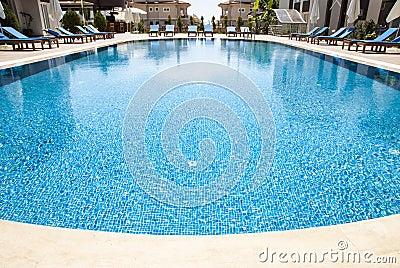 Wide Angle Swimming Pool Stock Photos Image 24977413