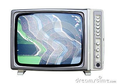 Wide angle tv