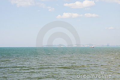 The wide-angle views of the sea. The longest in th