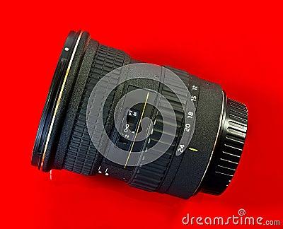 Wide angled camera lens