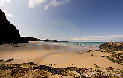 Wide Beach Cornwall