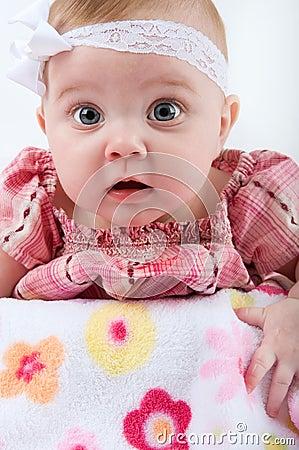 Wide Eye Baby Girl