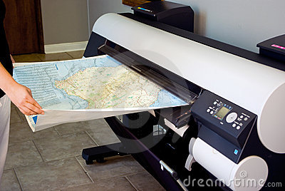 Wide Format Printer (Plotter)