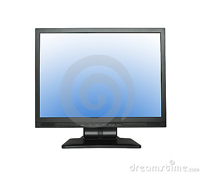 Wide LCD screen