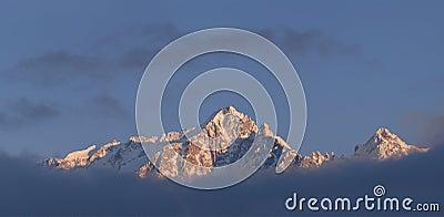 Wide mountain landscape