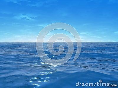 Wide ocean