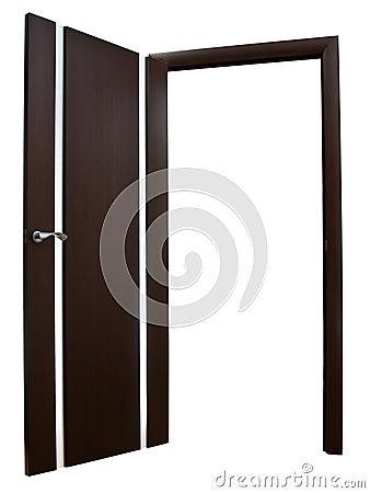 Wide open door