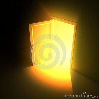 Wide Open Door Light