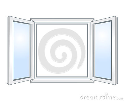 Wide open window