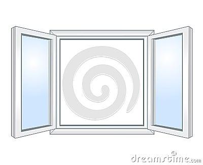 Wide open window