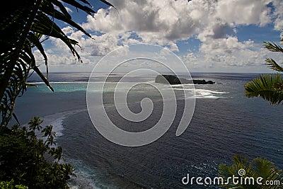 Wide samoa landscape