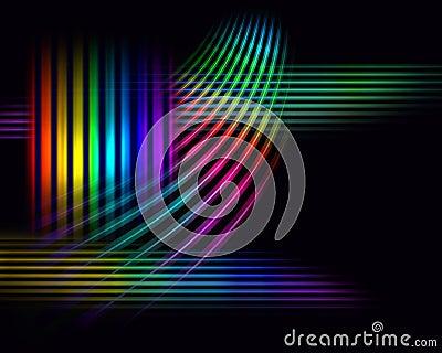 Wide spectrum background