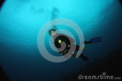 Wideangle diver