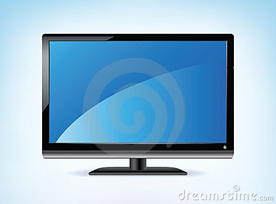 Widescreen HDTV Display